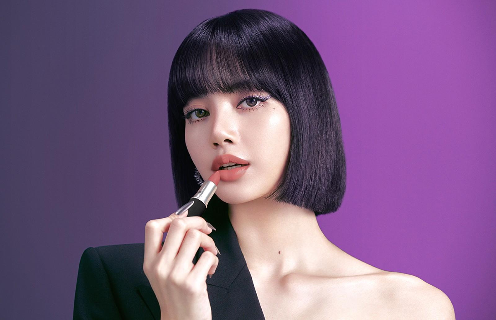 Lisa de Blackpink es la nueva embajadora de M.A.C Cosmetics