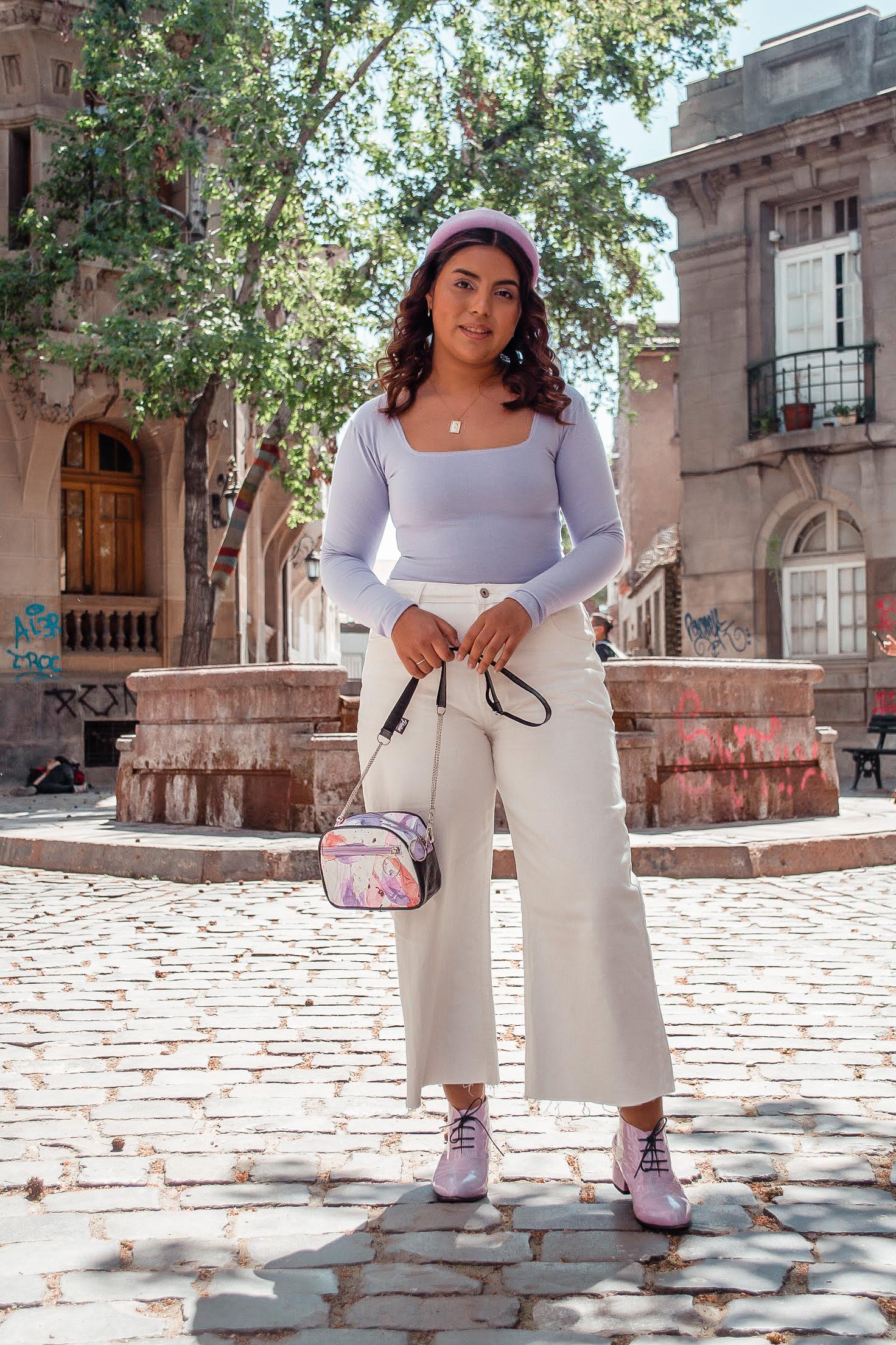 """Entrevista a @patriciacortos: """"Mostrarme usando una prenda x es mucho más que modelar por likes, es darle la confianza a otra persona a través de una pantalla"""""""