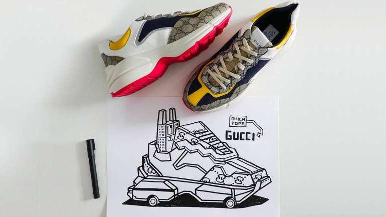 Gucci Sneaker Garage: la app dedicada a las zapatillas de la marca