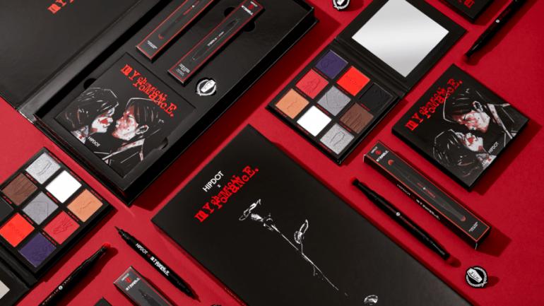 My Chemical Romance lanza línea de maquillaje con HipDot