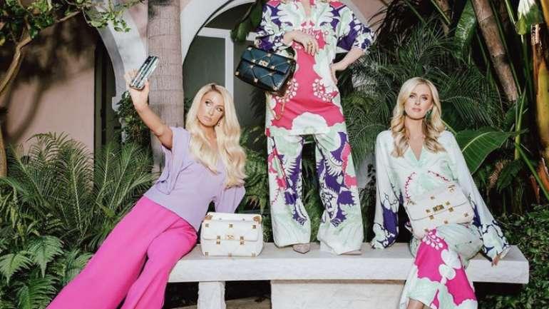 La familia Hilton en la nueva campaña de Valentino