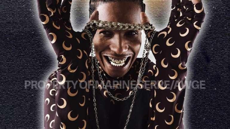 La colección cápsula de Marine Serre x A$AP Rocky