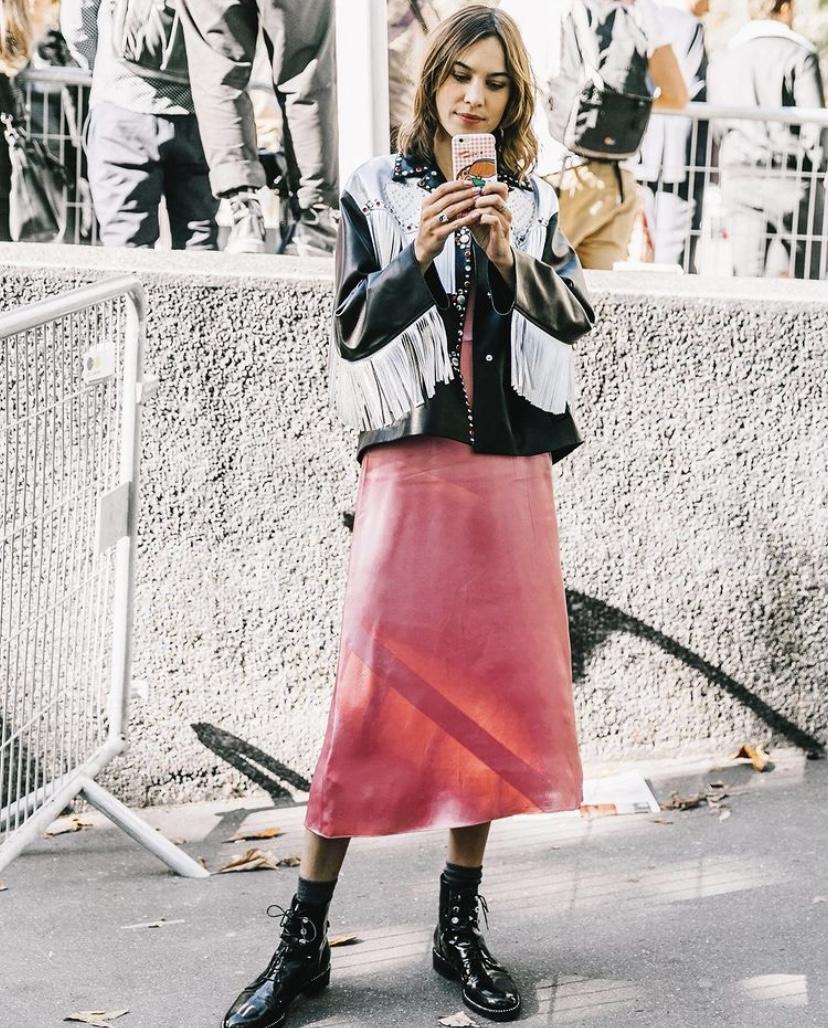 ¿Se acuerdan cuando existía el street style?: La nostalgia de @collagevintage2