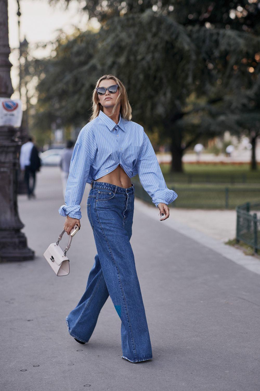 Tres tendencias de jeans oversize