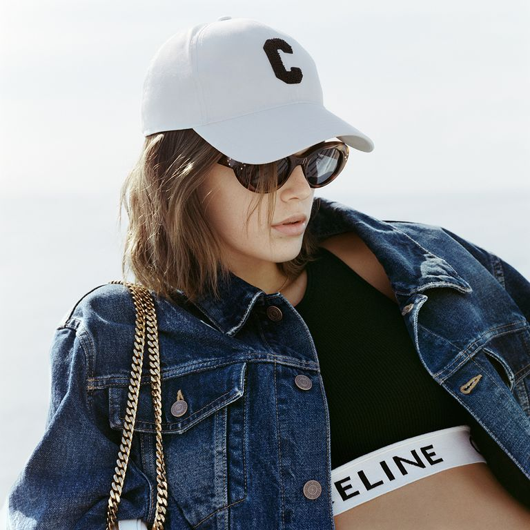 La campaña primavera/verano 2021 de Celine protagonizada por Kaia Gerber