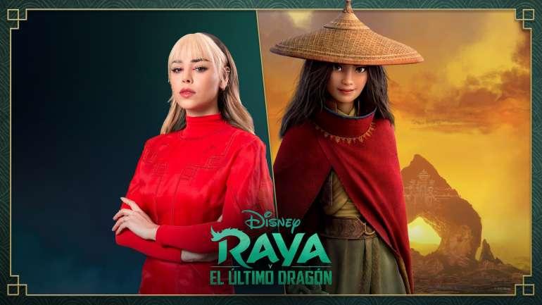 """Danna Paola será la voz de la protagonista de """"Raya y el último dragón"""",  la nueva película de Disney"""