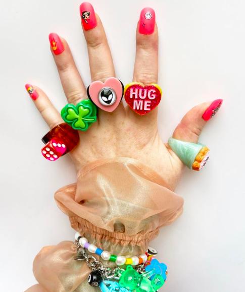 Tendencias: accesorios coloridos