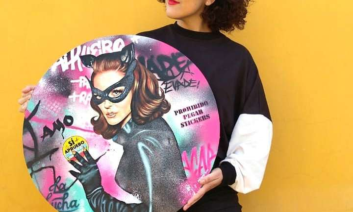 Paloma Rodríguez y el arte de vestir las protestas