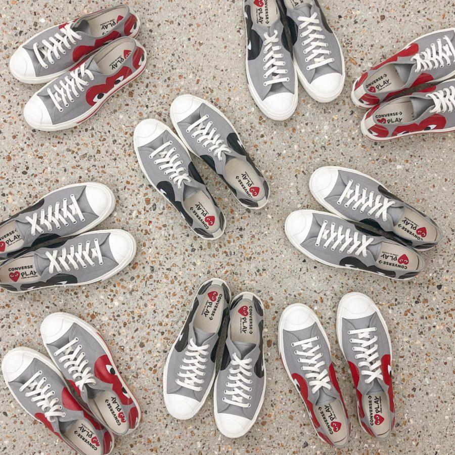 Converse y Comme des Garçons presentaron nuevo diseño