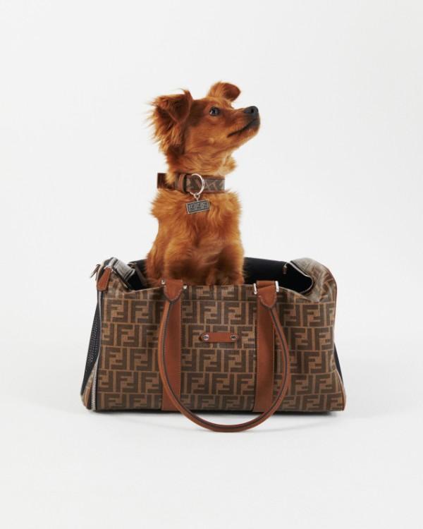 Fendi lanza una línea de viajes para mascotas