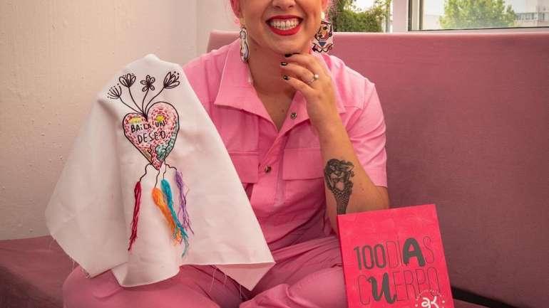 """""""100 días cuerpo"""" el libro de Brigitte Kattan que relata el backstage de importantes artistas chilenos"""
