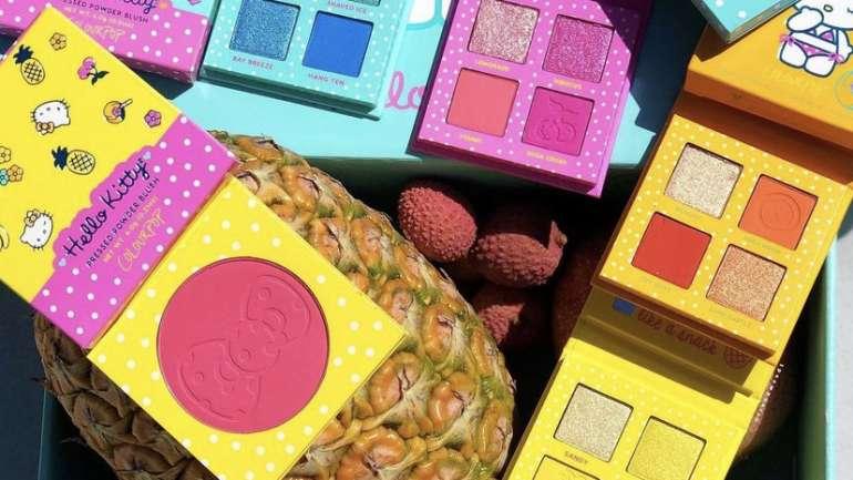 Hello Sunshine: la colección de maquillaje de Colourpop x Hello Kitty