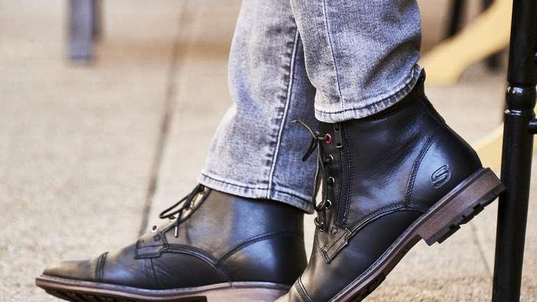 Los modelos de botas y botines que necesitarás para pisar con estilo llegan esta temporada junto a Skechers