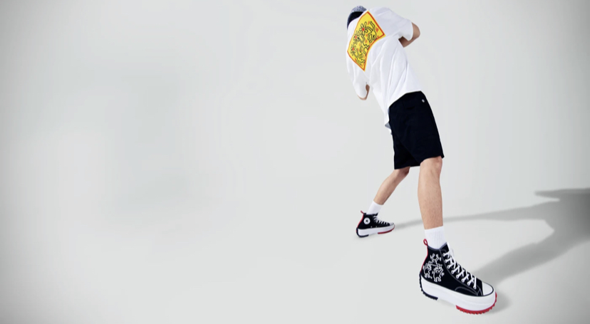 Converse x Keith Harin: la nueva colección inspirada en el artista