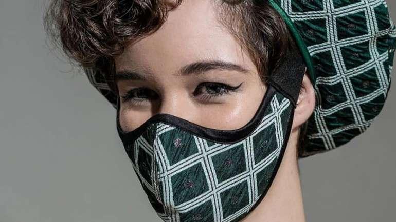 Claudia Troncoso, la diseñadora chilena que apuesta por las mascarillas