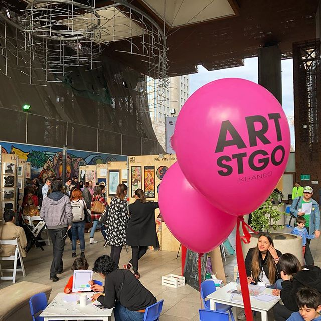Comenzó Art Stgo 2021, la feria  de arte digital más grande de Chile