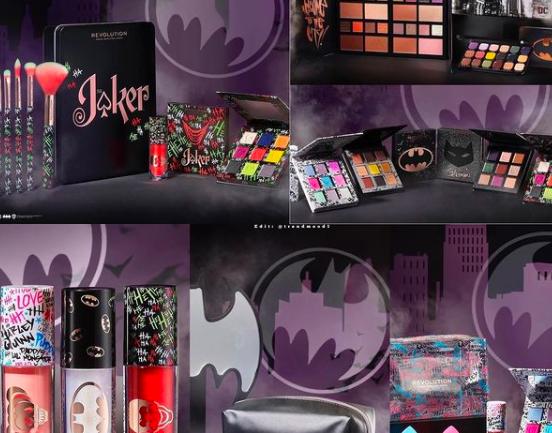 Una colección de maquillaje inspirada en los personajes de DC Comics