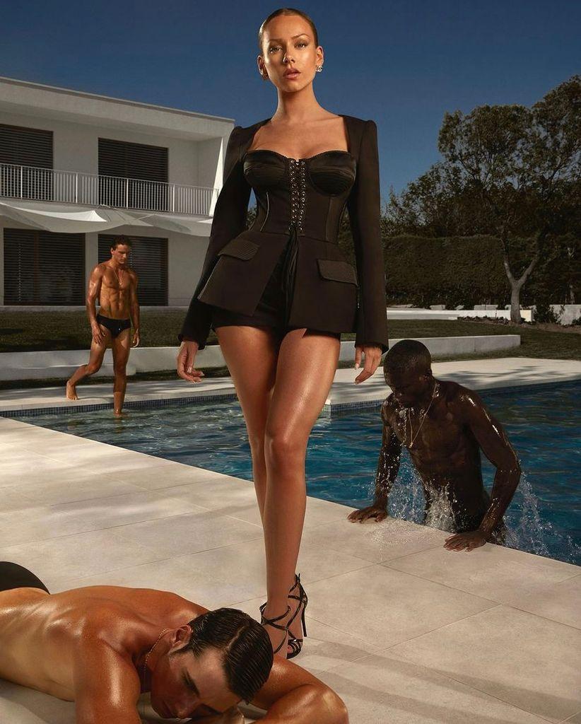 Ester Expósito protagoniza la última campaña de Dolce & Gabbana