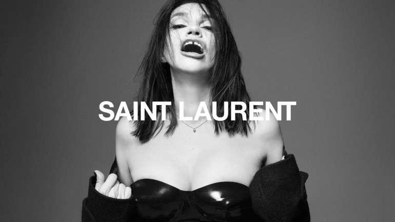 Béatrice Dalle, el ícono francés que ahora es rostro de Saint Laurent