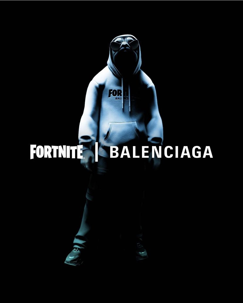 Balenciaga y Fortnite lanzan una colección digital y física